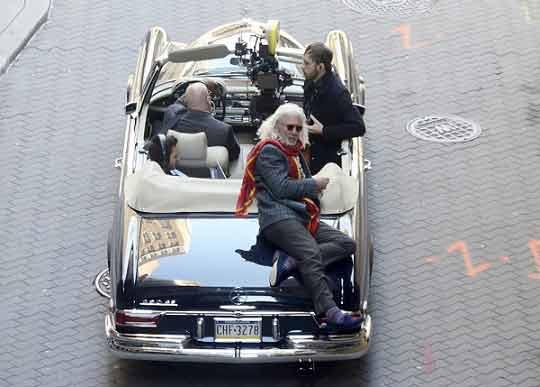 44 پشت صحنه ی فیلم جدید « ریچارد گر » به نام « فرانی »
