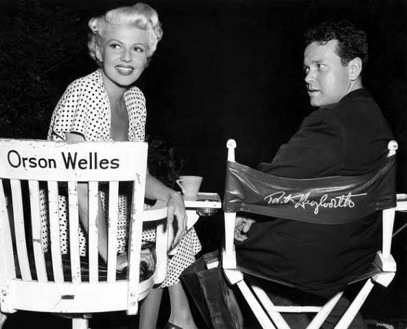 وقتی صندلیها عوض میشود؛ اورسون ولز و ریتا هیوورث زیبا